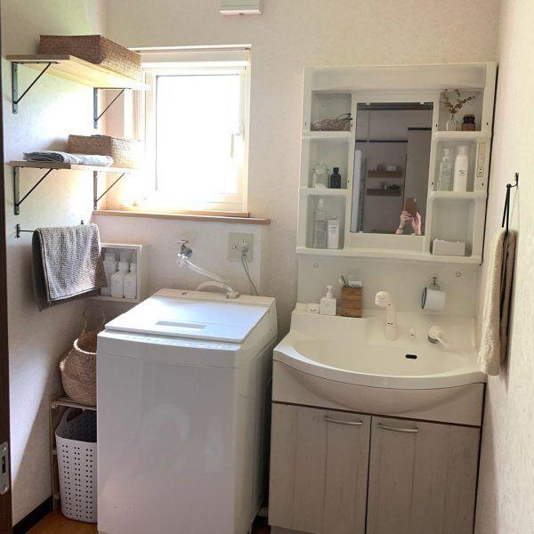 洗面・脱衣所のすっきり収納アイデア