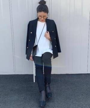 [Auntie Rosa] スクエアトゥシアーチュールパイピングショートブーツ