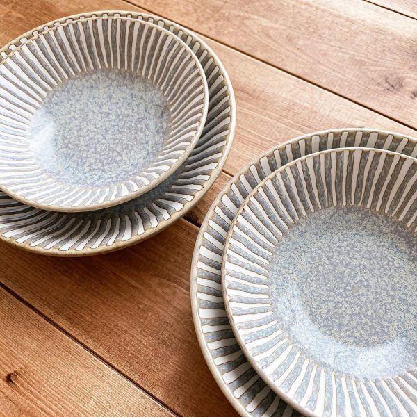 ほっこり温かで手作りの風情がある和風深皿