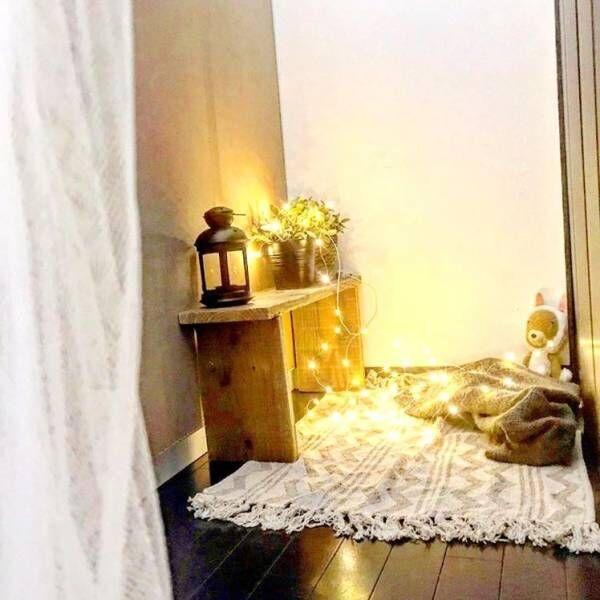 秋の夜長はロマンティックに♡照明使いが素敵すぎるインテリアコーディネート