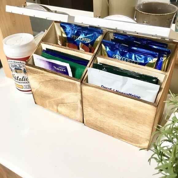 収納上手に学ぶコーヒー&紅茶の整理整頓アイデア!おうちカフェをもっと快適に☆
