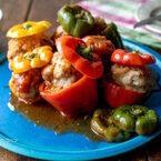 【連載】火を使わずに簡単調理!楽し作れる「カラフルピーマン肉詰め」レシピ