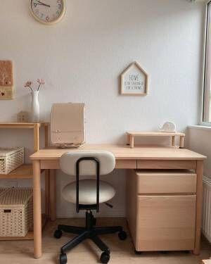 北欧テイストの子供部屋