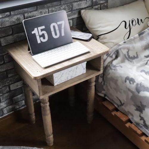 【連載】端材でも高級感たっぷり!レトロなサイドテーブルを作ろう♫