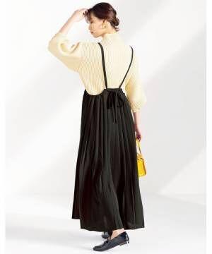 [GeeRA] 【20秋冬新着】プリーツジャンパースカート