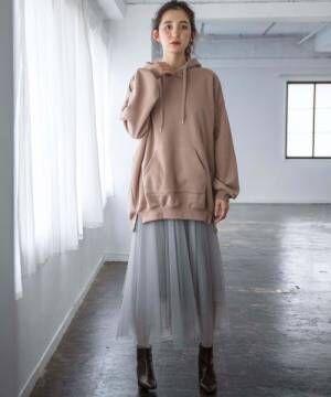 [GeeRA] 【WEB限定】イレヘムチュールスカート