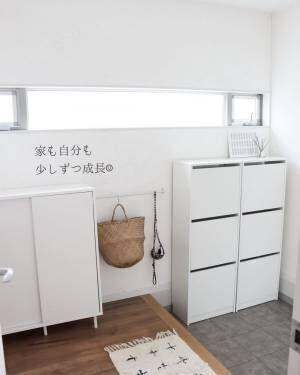 白い家具インテリア4
