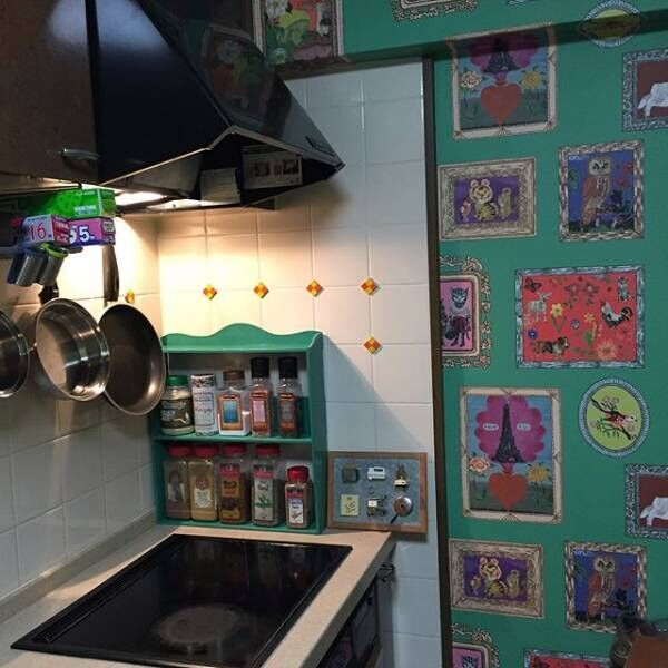 壁紙 キッチンデコレーション2