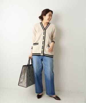 [JOURNAL STANDARD] 【TRADITIONAL WEATHERWEAR】RIB TILDEN CD:カーディガン◆
