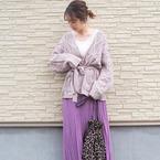 【GU】のスカート&ワンピが可愛い♪大人のプチプラフェミニンコーデ