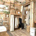 衣類は『オープン収納』で使いやすく♪隠さずあえて見せる衣類収納アイデア