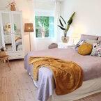 温かさを感じる《寝室インテリア》!そろそろ寝室も秋冬仕様にチェンジ♪