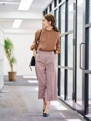 【2020秋~冬】最旬レディースファッション《パンツスタイル》2
