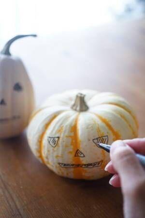 簡単に出来る♪ハロウィンかぼちゃランタンの作り方2