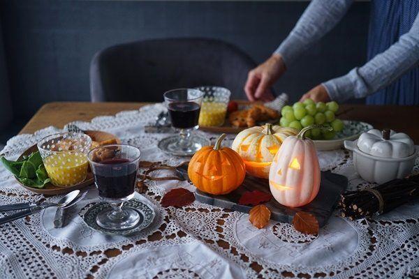 簡単に出来る♪ハロウィンかぼちゃランタンの作り方10