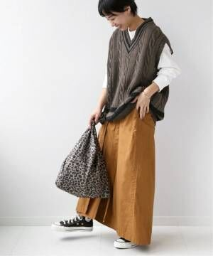 [JOURNAL STANDARD] 【Oldderby Knitwear】Vネックニットベスト◆