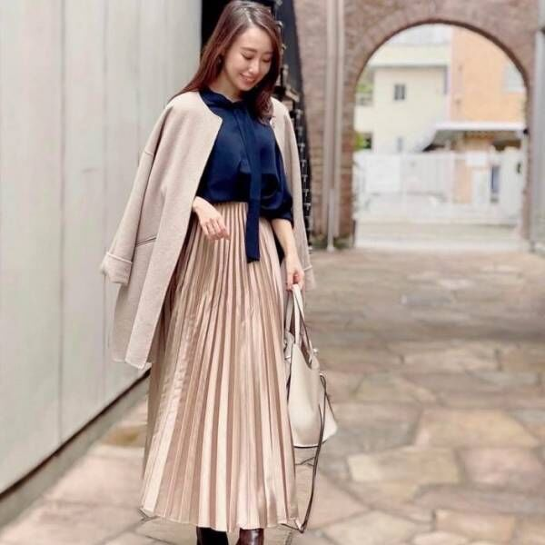 【10/29更新】読者モデル、阿部早織が着こなす。Sサイズさんの〝OLリアルコーデ〟