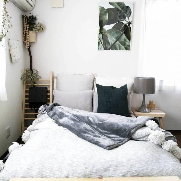 ナチュラルコーデで良い睡眠を♪ぐっすり眠れるナチュラルな寝室コーデ実例集