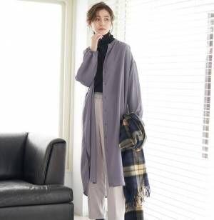 上品な洗練スタイルに♡冬にピッタリの《グレーアイテム》をチェック!