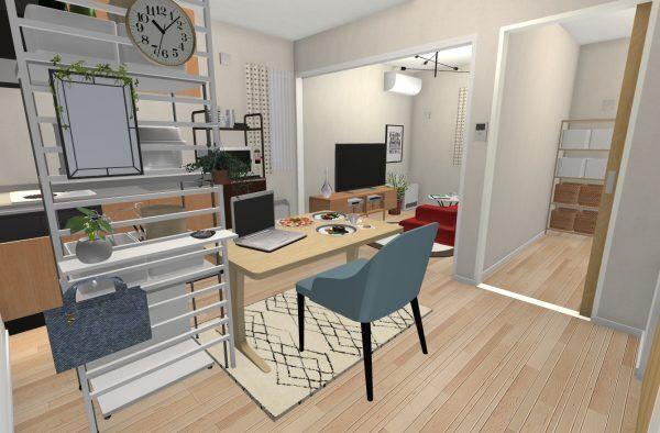 【連載】シングルやディンクスにおススメ!2DKのおしゃれで機能的な家具レイアウト術