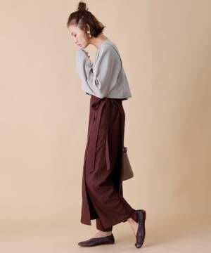 [FREAK'S STORE] スカートアンサンブルパンツ