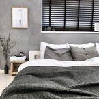 寝室は落ち着いた空間にしたい♡ホテルのような《モノトーンインテリア》