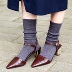 チラリと覗く靴下がポイント♡おしゃれ上級者さんのソックスコーデ見本帖