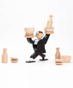 [FREAK'S STORE] KIKKERLAND/ キッカーランド Don't Tip The Waiter Stacking Game