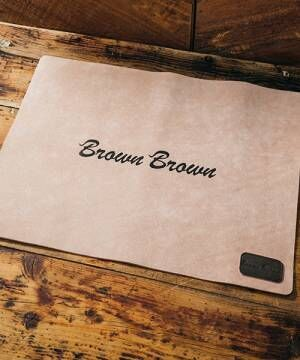 [THE FRIDAY] 【BrownBrown】ブラウンブラウン/フロアマット【定番商品】