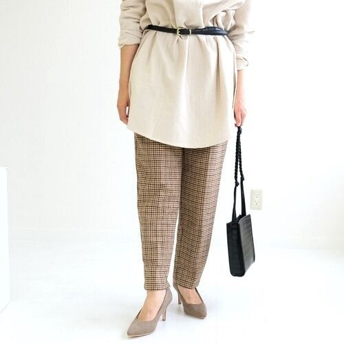 《ベージュパンプス》でヌーディに♡素肌感のあるレディースファッション