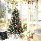 飾り方でこんなにお洒落に♪クリスマスツリーのディスプレイテクをご紹介