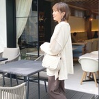 【GU】のホワイトアイテムで可愛らしさを♡30代女性コーデをご紹介!