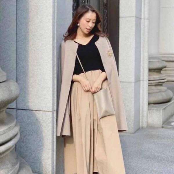 【12/3更新】読者モデル、阿部 早織が着こなす。Sサイズさんの〝OLリアルコーデ〟