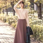 マキシ丈が大人っぽい♡ロングスカート&ロングワンピースの着こなし方