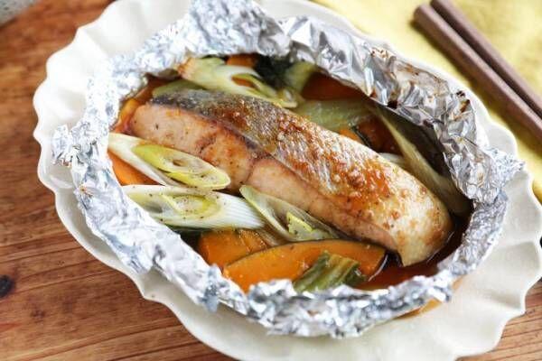 「焼肉のたれで簡単!鮭のホイル焼き」の作り方