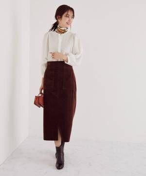 スタイルアップハイウエストタイトスカート