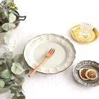 リムデザインがおしゃれなお皿に夢中!テーブルを彩る美しいプレート