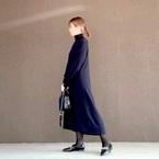 【ユニクロ】のスカート&ワンピースで作る!冬の大人カジュアルスタイルをチェック