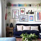 海外のお洒落な《ウォールデコレーション》集♡壁を飾って印象的に♪