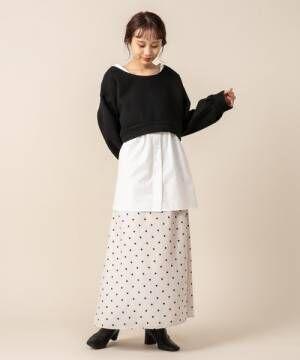 [mystic] [mline]ロングマーメイドスカート