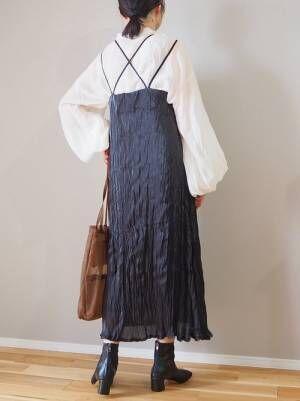 [Auntie Rosa] 【新色登場】バルーン袖シャツ