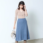 30代40代のレディース冬コーデ!今こそスカートの力で女っぽさ満点服を