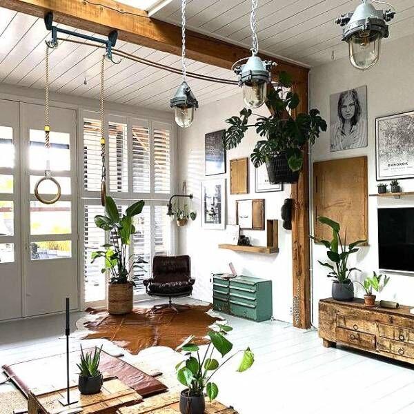 観葉植物のある暮らしに憧れる。おしゃれな【鉢カバー】でより素敵な空間に