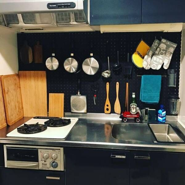 有効ボードキッチン収納