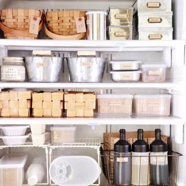 収納上手さんに学ぶ《冷蔵庫収納》!スッキリ見せるコツをご紹介