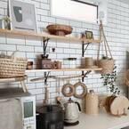 おしゃれなキッチン背面に憧れる♡おしゃれさんのキッチン背面インテリアを紹介