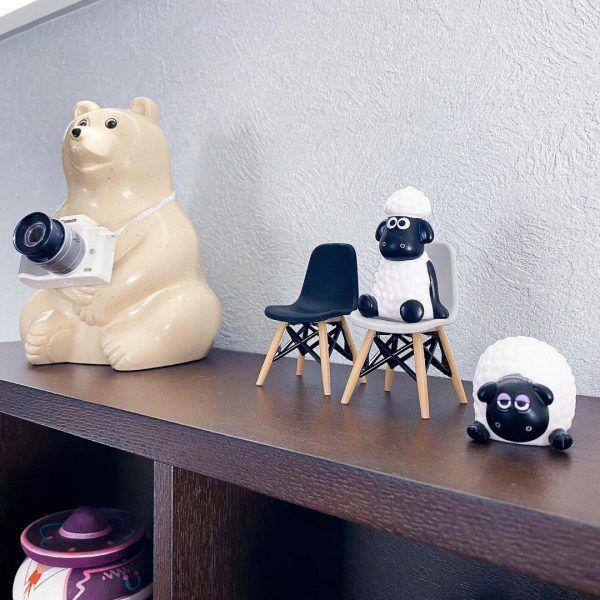 多用途なミニチュア家具