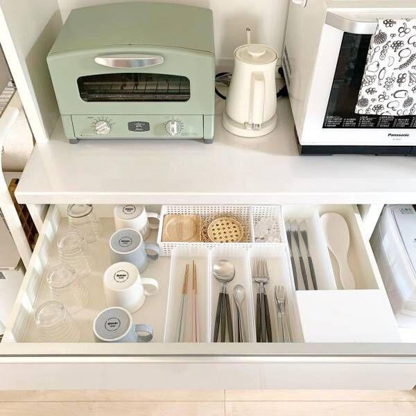 引き出しを開けてもときめく!お気に入りのモノだけのキッチン収納