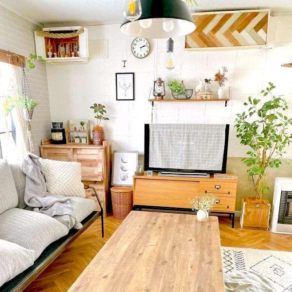 暮らしを便利に快適に。癒し空間が広がるリノベーションのお家