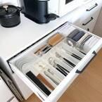 暮らし上手さんのキッチン引き出し収納術。使いやすい整理整頓アイデアをご紹介